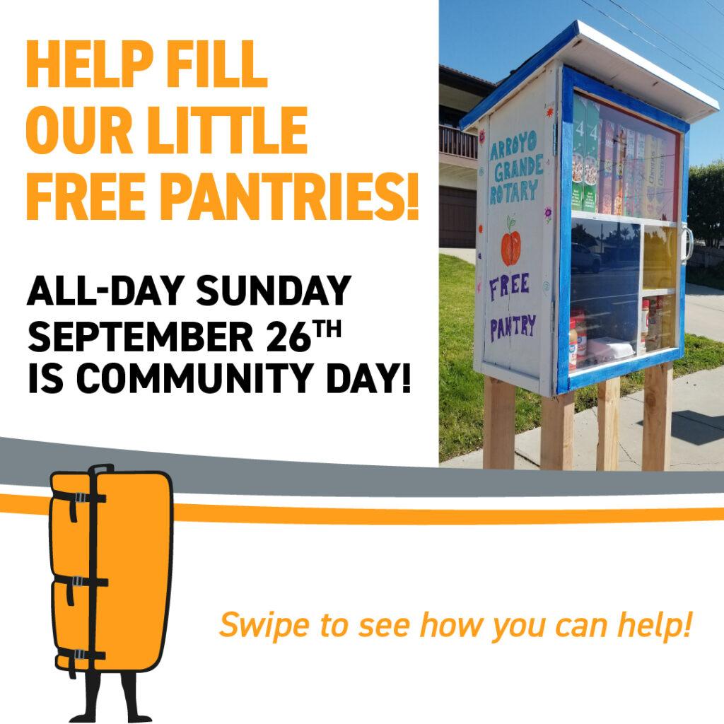 Help fill little free pantries in SLO